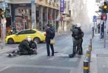 صورة وسط أثينا : اشتباكات مع الشرطة احتجاجًا على أخذ عينات الحمض النووي الإلزامي