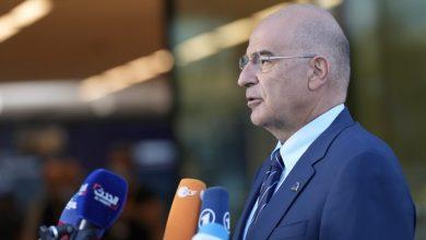 صورة دندياس يحضر اجتماع مجلس الشؤون الخارجية للاتحاد الأوروبي