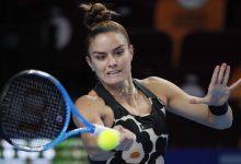 صورة اليونانية سكاري تتقدم في نهائيات اتحاد لاعبات التنس المحترفات بموسكو