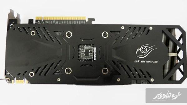 الجهة الخلفية لبطاقة GTX 960