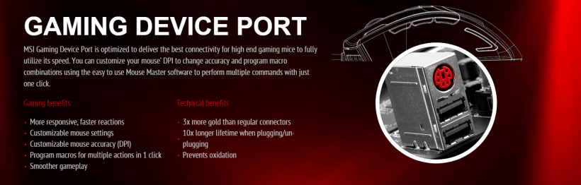 Gaming Device Port