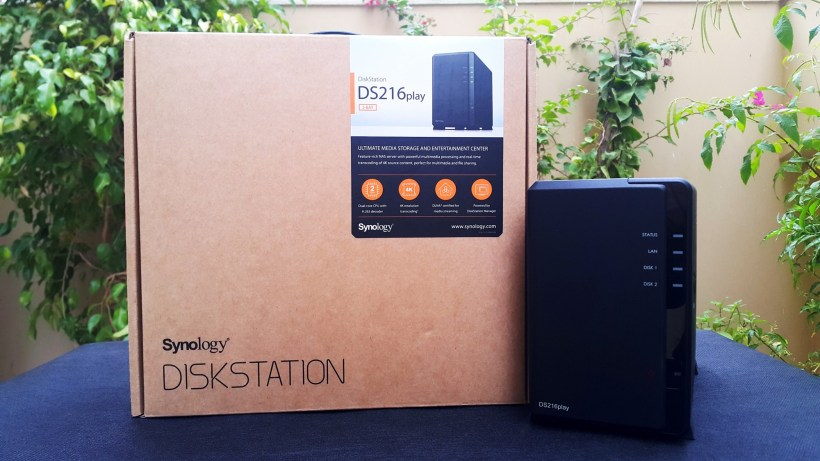Synology Diskstation DS216Play Box + Diskstation