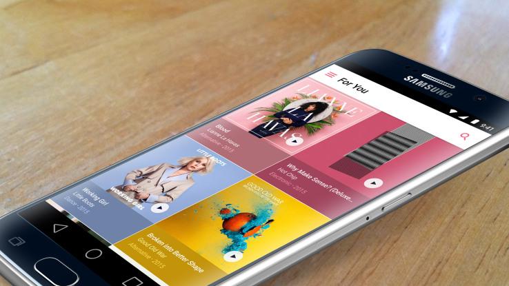 Apple Music on Samsung s6 Edge
