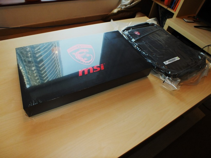 2- MSI GS60 6QE Ghost Pro Box and Bag