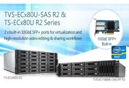 QNAP تدشن سلسلة تخزين TVS-ECx80U و TS-ECx80U