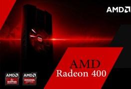 سلسلة بطاقات AMD Radeon 400