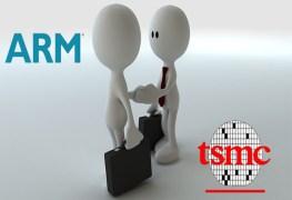 تعاون استراتيجي بين TSMC و ARM