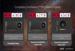 بطاقة AMD RX 470/460..