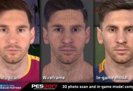 لعبة PES 2017 تهدف للوصول لأفضل دقة رسومية للاعبين بداخلها