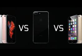 iPhone 6s VS iPhone 7 vs iPhone 6