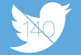 تويتر يعيد تعديل قوانين الكتابة بحد ال 140 حرف