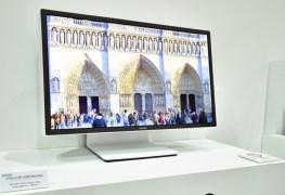 شاشة Sharp IGZO بدقة 8k