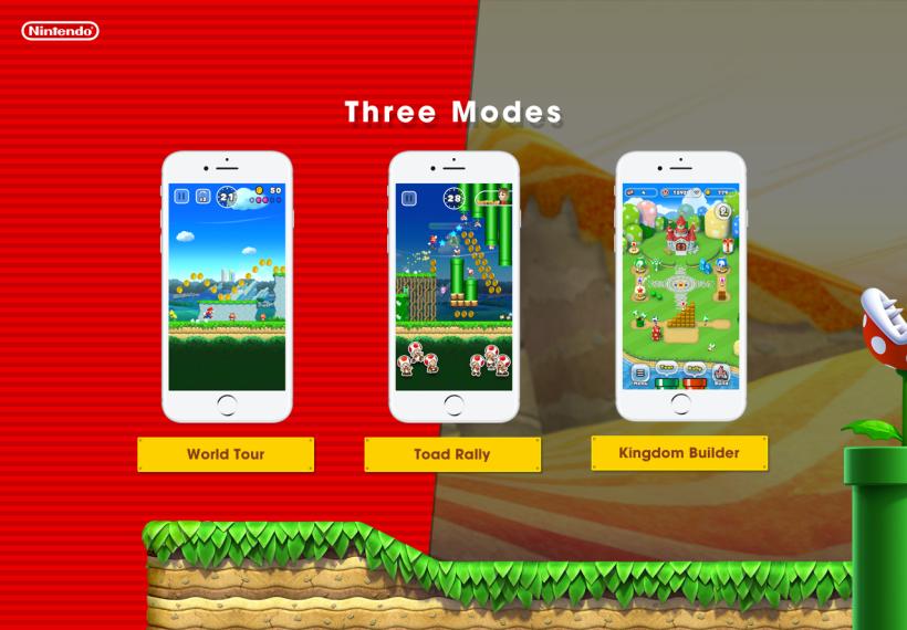 Super Mario Run - Mods - لعبة Super Mario Run - Nintendo