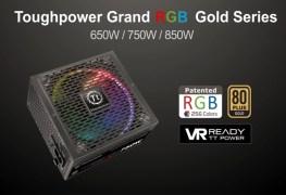 سلسلة مزود الطاقة Thermaltake ToughPower Grand RGB Gold