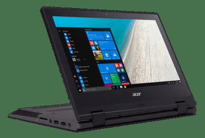 الجهاز المحمول Acer TravelMate Spin B1
