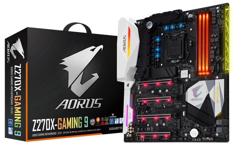 اللوحة الأم AORUS Z270X-Gaming 9