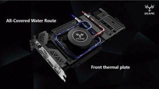 الكشف عن بطاقة Colorful GTX 1080 Ti Neptune W بتبريد مائي متكامل AIO