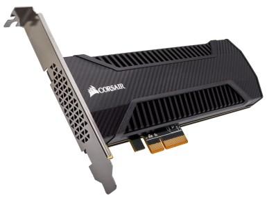 لأول مرة CORSAIR تكشف عن أسرع أقراصها بالعالم NX500 NVMe PCIe AIC SSD