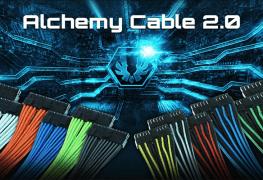 الإعلان عن حزمة كابلات BitFenix Alchemy 2.0 الجديدة لمزود الطاقة