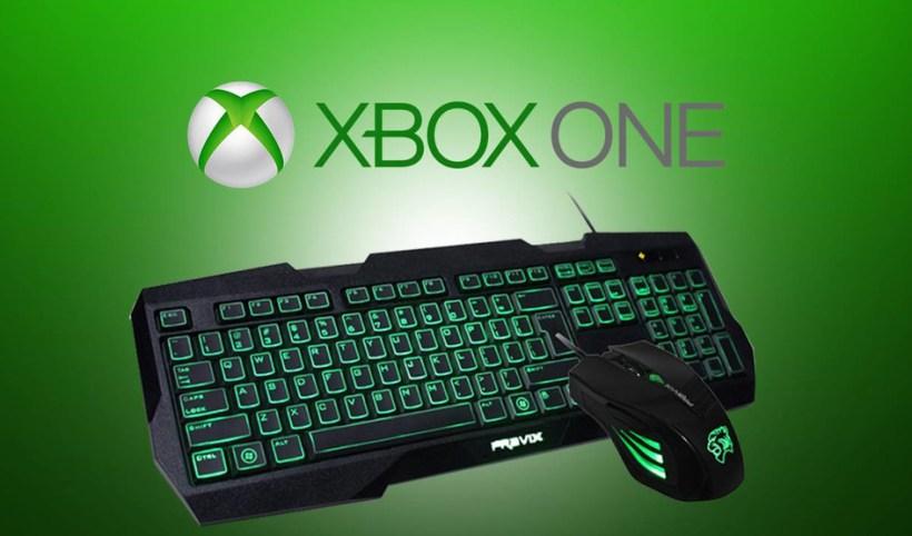 دعم لوحة المفاتيح و الفأرة Xbox One