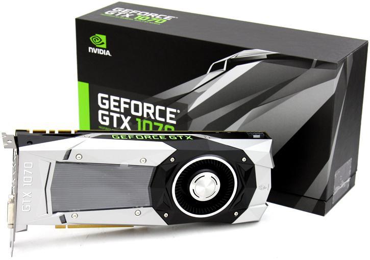بطاقة GeForce GTX 1070 Ti