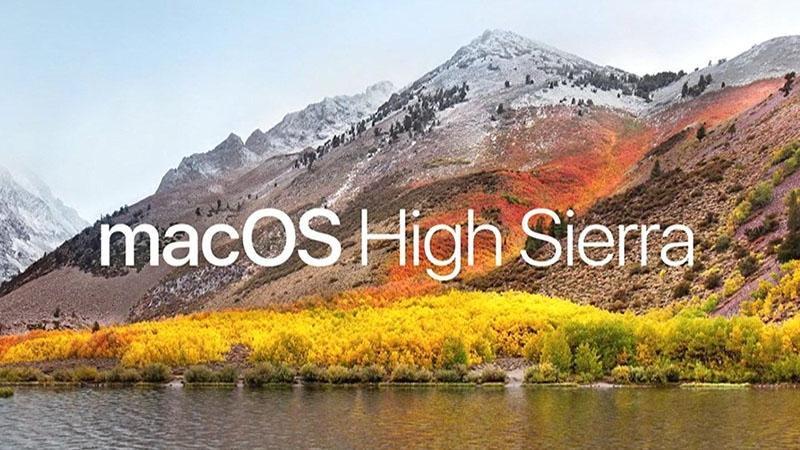 نظام تشغيل High Sierra