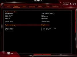 Gigabyte AORUS X299 Gaming 9 BIOS (16)