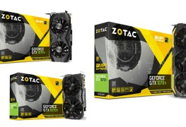 شركة ZOTAC تقدم للاعبين 3 بطاقات GTX 1070 Ti بتصميم احترافي