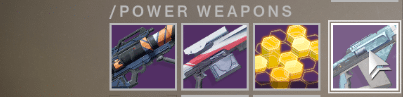 power weapon