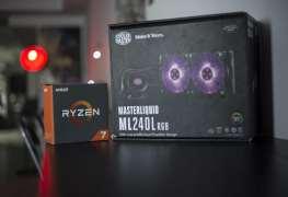 Cooler Master MasterLiquid ML240L RGB AMD RYZEN Threadripper
