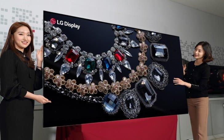 شركة LG شاشة OLED
