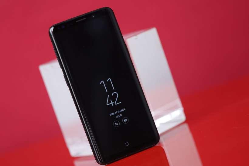 Samsung Galaxy S9 AOD