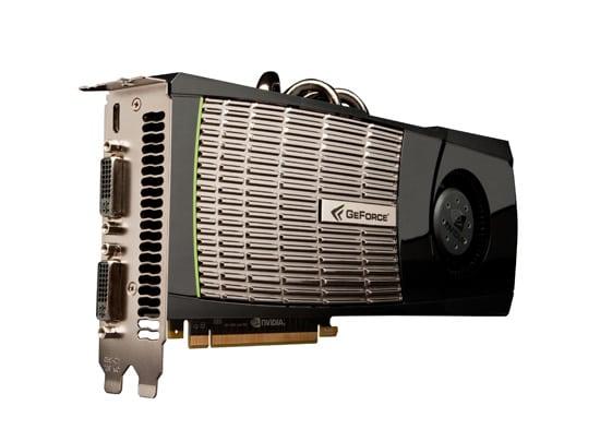 بطاقة NVIDIA GeForce GTX 480 القائمة على معمارية Fermi
