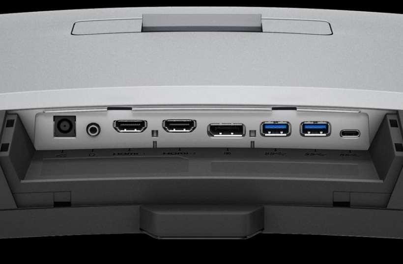 منافذ التوصيل بشاشة BenQ EX3203R