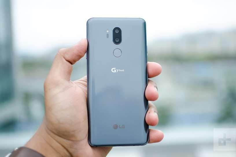 LG G7 ThinQ ، إل جي جي 7 ثينك