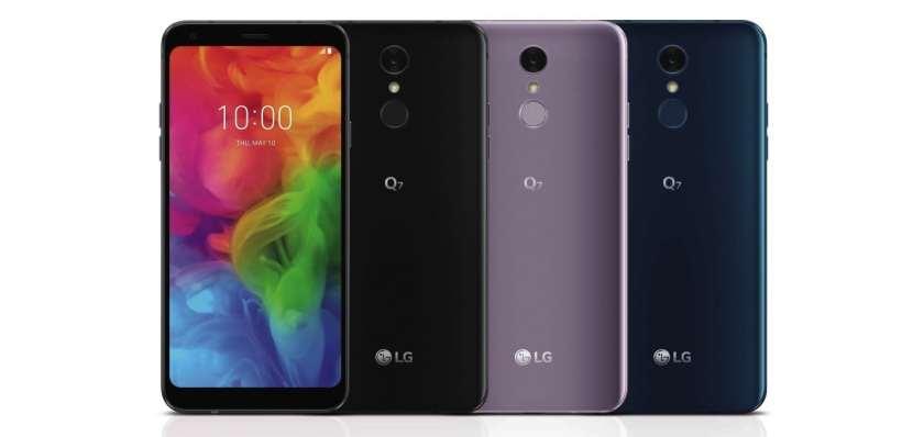 LG Q7 ، إل جي