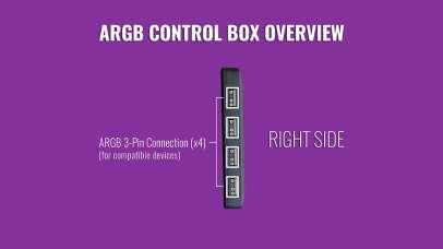 Cooler Master Wired ARGB Contoller 3