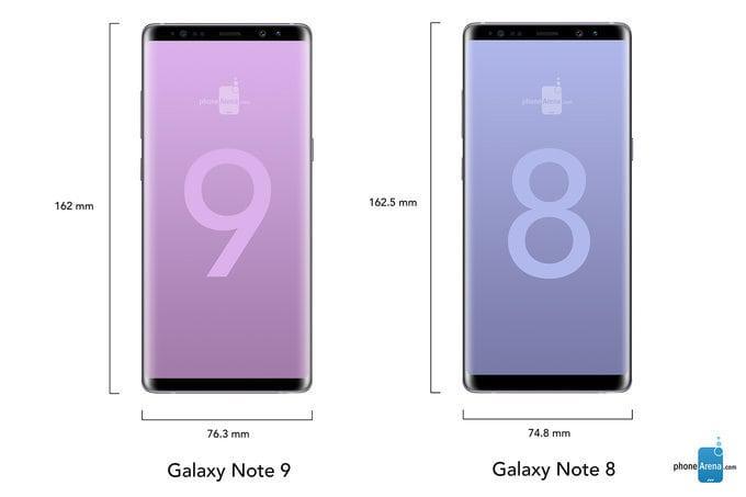 Samsung Galaxy Note 9 ، جالاكسي نوت 9