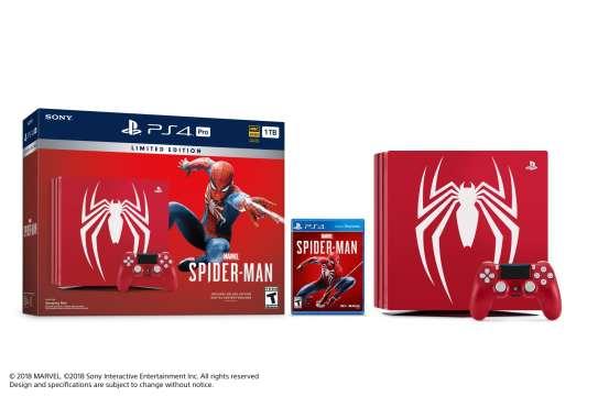 Limited Edition Marvel's Spider-Man PlayStation 4 Pro Bundle Image 1