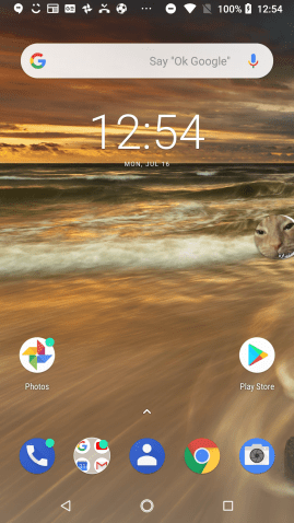 HMD Nokia 6.1 UI