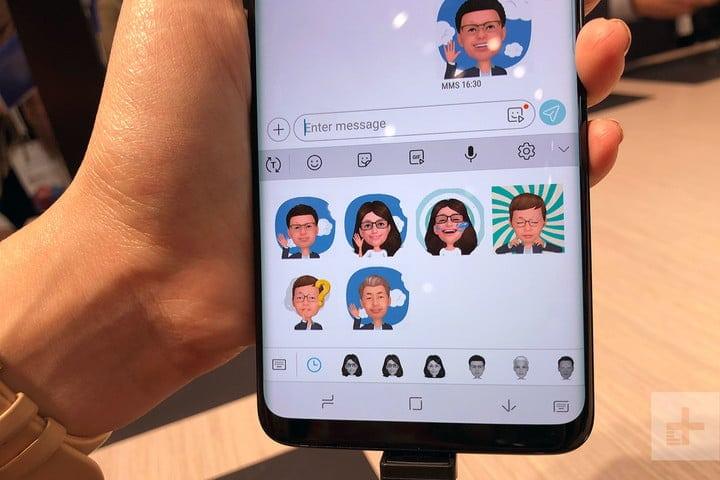 AR Emoji in Galaxy S10