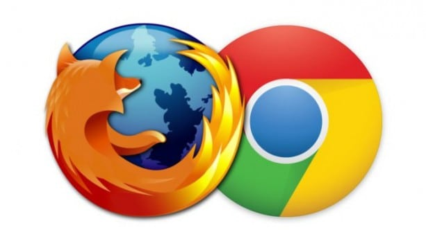chrome و Firefox