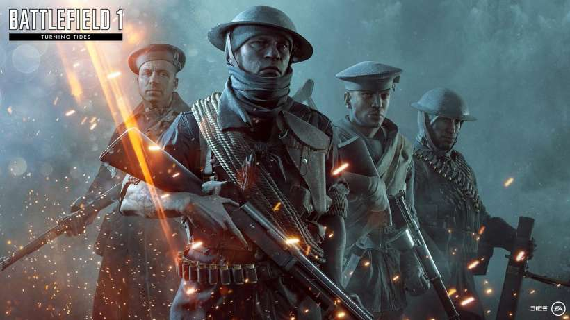 DICE Battlefield 1 turning tides DLC