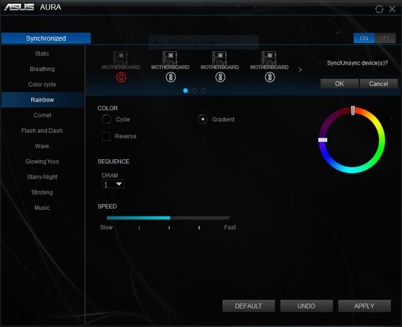 ADATA XPG Spectrix D41 App