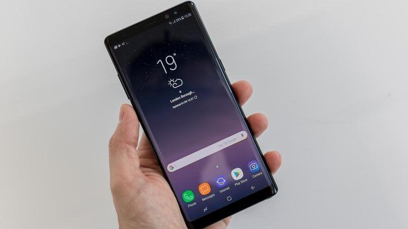 Samsung Galaxy Note 8 vs Note 9