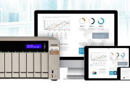 QNAP QSync لمزامنة الملفات