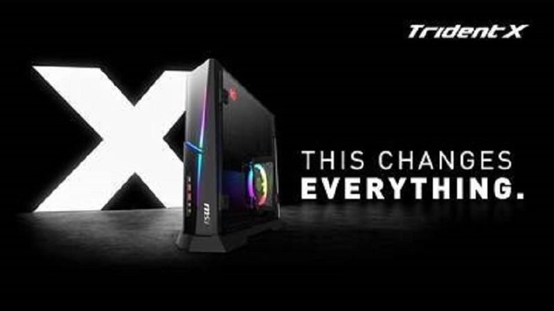 MSI Traidnt X جهاز