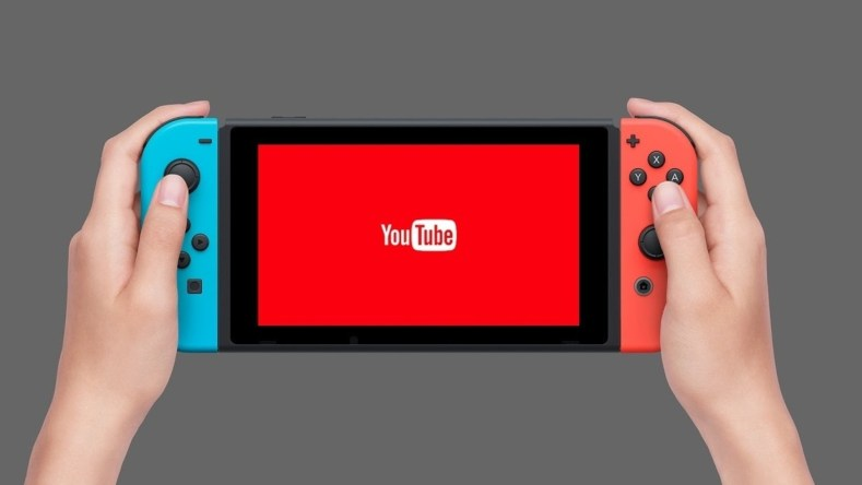 YouTube على Nintendo Switch هذا الأسبوع