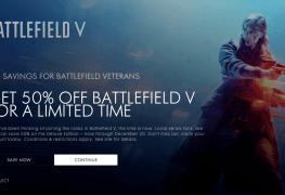 EA battlefield 5 50%