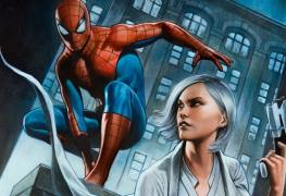 Spider-Man Silver Lining Silver Sable Hammerhead